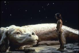 Dans quel film de 1984 voit-on ce grand dragon blanc ?