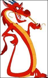 Comment s'appelle le dragon dans  Mulan  ?