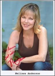 Melissa Sue Anderson a joué le rôle de la fille aînée d'une famille, laquelle ?