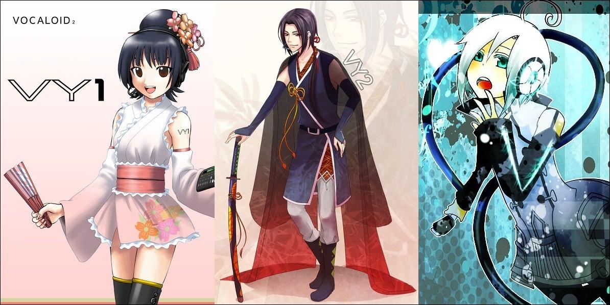 Qui, entre VY1 Mizki, VY2 Yuma et Piko Utatane, a pour objet associé le Wakizashi ?