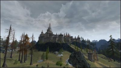 Quel est le nom de l'avant-poste nain que traversent Eragon, Arya, Saphira et les nains pour aller au Du Weldenvarden ?