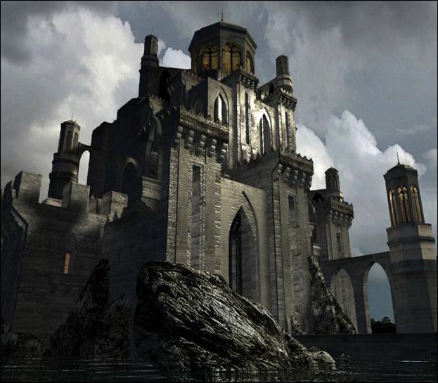 Où se situe l'ancien château de Morzan ?