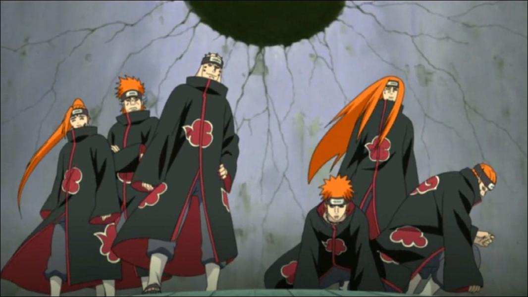Comment s'appellent ces six personnages ?