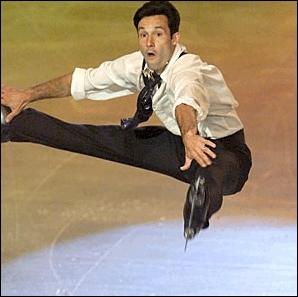 Cet ancien patineur fut 4 fois champion de France en 90, 91, 92 et 93. Il s'appelle :