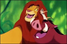 Le Roi lion - Hakuna Matata :  Oui, y a dans tout cochon un ... ... ... . qui sommeille.
