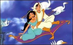 Aladdin - Ce rêve bleu :  Je vire, délire et chavire dans un... ... ... . . d'étoiles.