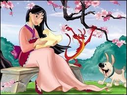 Mulan - Comme un homme :  Sois plus ... ... ... . . que le cours du torrent.