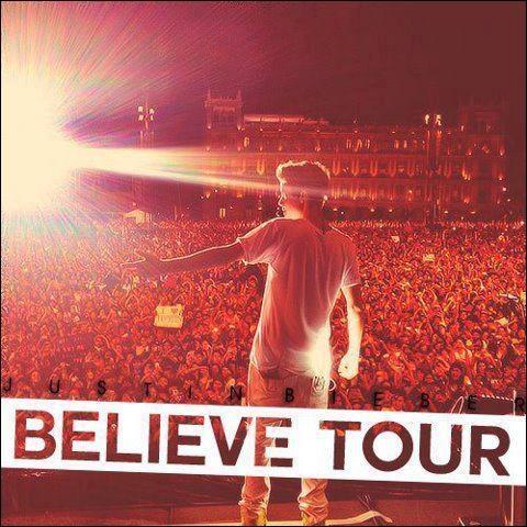 Justin commence sa tournée Believe Tour, quand passera-t-il en France ? !