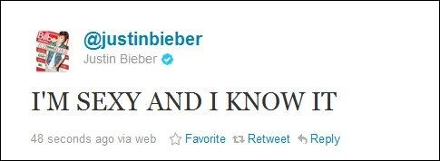 Quelle est la date d'inscription de Justin sur Twitter ?
