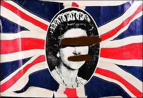 Pochette d'album prise à partir d'une photo du jubilé de la reine en 1977. Quel est le groupe qui fit scandale avec cette pochette en Angleterre ?