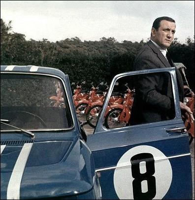 La Renault 8 Gordini d'Antoine Beretto, ancien gangster devenu armateur ... .