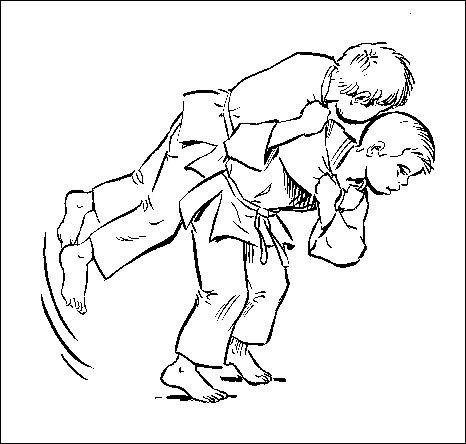 Comment s'appelle cette technique de judo ?