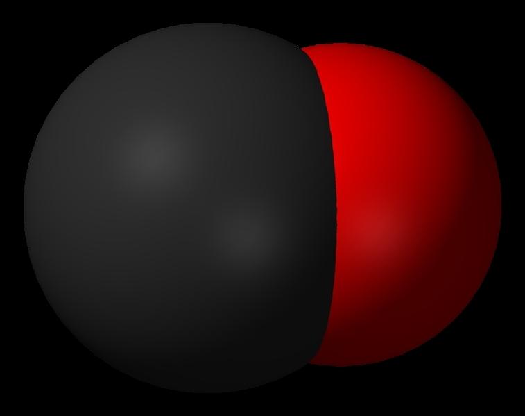Quelle est la formule chimique du monoxyde de carbone ?