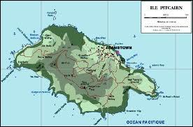 Quelle est la particularité de l'île de Pitcairn ?