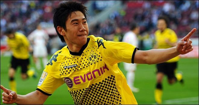 Où a été transféré Shinji Kagawa cette saison ?