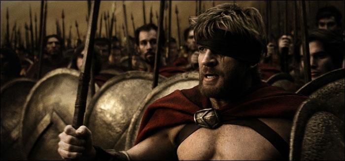 Combien de guerriers font face aux Perses après la mort de Léonidas et de ses 300 Spartiates ?
