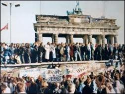 En quelle année a eu lieu la chute du mur de Berlin ?