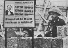 La Guerre froide : le mur de Berlin