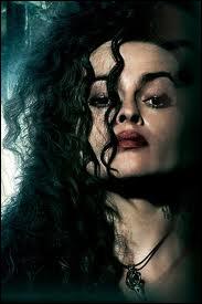 Elle est un peu fêlée, mais elle aime faire souffrir, avec sadisme. Elle appartient à la famille Black, et sa motivation est d'adorer au-delà de la raison son maître, le Mage noir. C'est ?