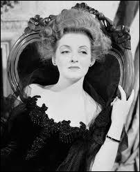 Elle laissera mourir de sang-froid son mari, immobile tandis qu'il réclame les cachets salvateurs. Bette Davis est impressionnante dans le rôle. C'est ?