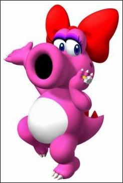 Qui est ce dinosaure rose ?