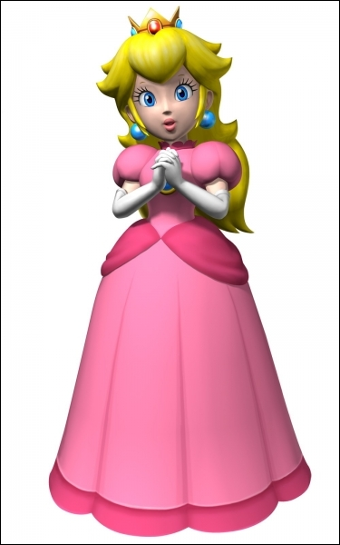 Qui est cette princesse avec une robe rose ?