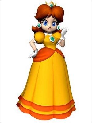 Qui est cette princesse avec une robe orange ?