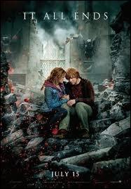 Harry Potter : où se passe le premier baiser entre Hermione et Ron ?