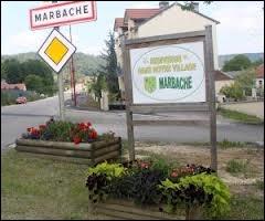 Les habitants de la commune de Marbache se nomment ...