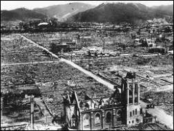 Sur quelle ville japonaise fut larguée une 2ème bombe atomique, trois jours plus tard, sur la population civile ?