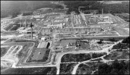 Quel est le nom du laboratoire de recherche nucléaire où fut mise au point la bombe A ?