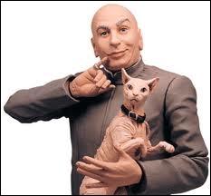 Chat et maître sont inspirés du chef du SPECTRE des films de James Bond. Quel est son nom dans  Austin Powers  ?
