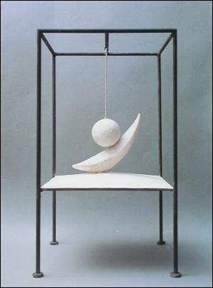 La boule suspendue  est une oeuvre en plâtre et métal d'Alberto Giacometti, réalisée au début des années 30. Giacometti était...