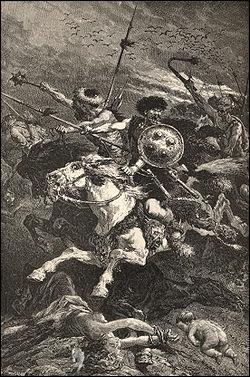 De quels barbares l'Europe fut-elle sauvée à la bataille des Champs Catalauniques (451) ?
