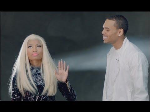Quel est le nom de la chanson qu'interprètent Nicki Minaj et Chris Brown ?