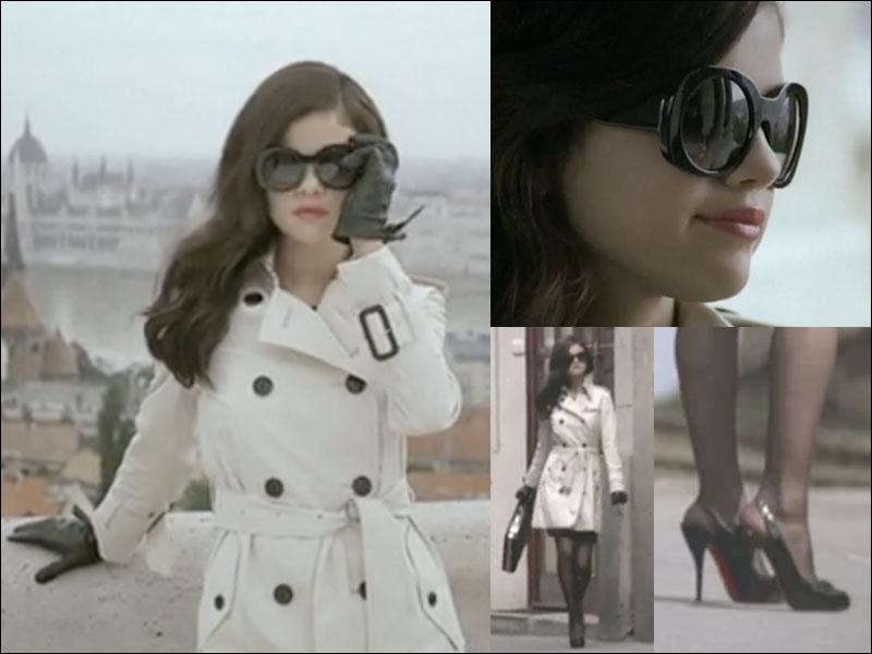 Dans quel clip Selena Gomez joue le rôle d'un agent secret ?