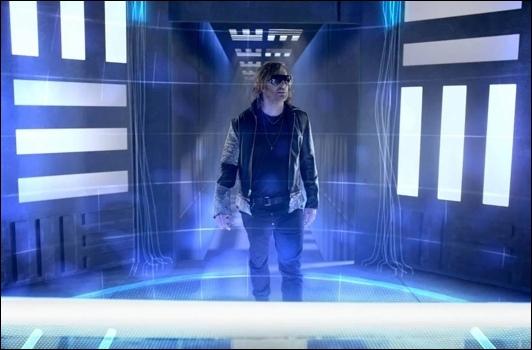 Chris Brown, David Guetta et Lil Wayne interprètent un clip de science fiction, comment s'appelle-t-il ?