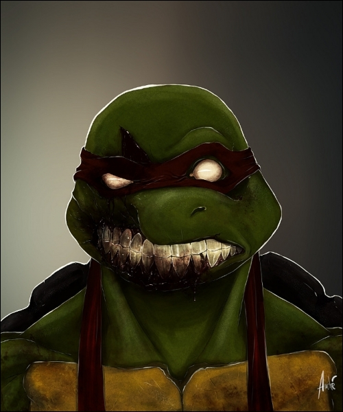 Il s'est transformé en zombie, du coup il n'aime plus les pizzas !