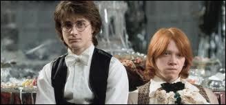 En 4ème année, pourquoi se fâche-t-il avec Harry ?