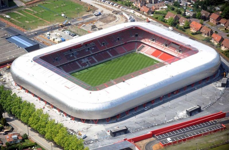 Grands stades en France