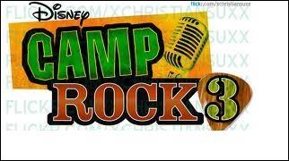 Comment s'appelle le Camp Rock 3 en anglais ?