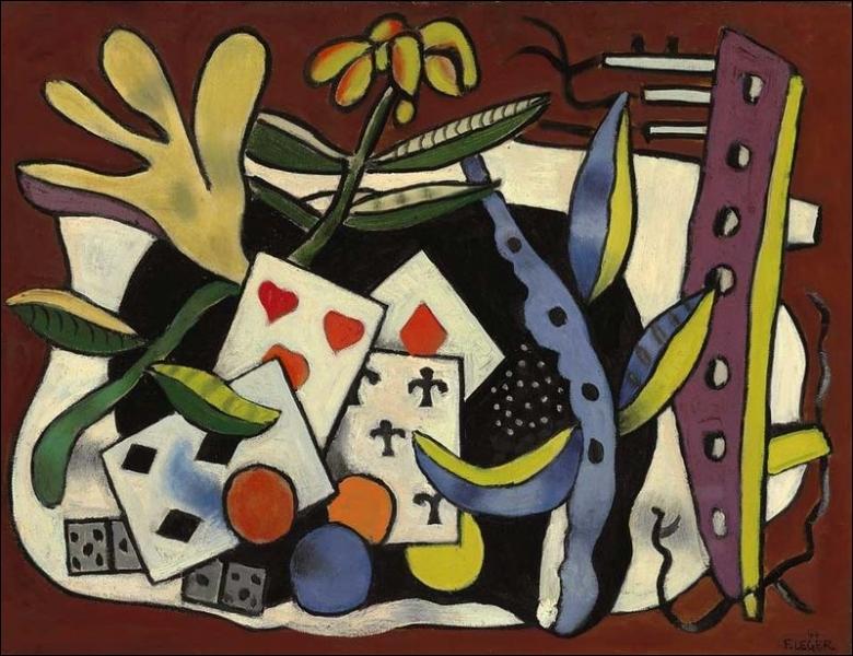 A quelle école d'art pictural Fernand Léger appartient-il ?
