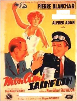 """Cette actrice morte en février 2012 a joué dans le film """"Mon ami Sainfoin"""", sorti en 1950, où elle tenait le rôle d'Eugénie de Puycharmois."""