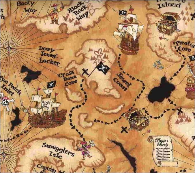 Qui a écrit le roman d'aventures  L'île au trésor  ?