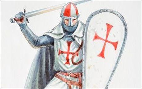Ces moines chevaliers ont été envoyés par le Pape pendant les Croisades pour protéger les pèlerins et combattre les ennemis orientaux. Qui sont-ils ?