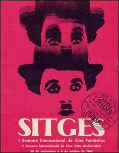 De quelle année est issue cette affiche du festival de Sitges?