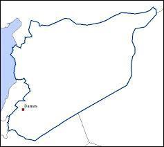Quels sont les pays voisins de la Syrie ?