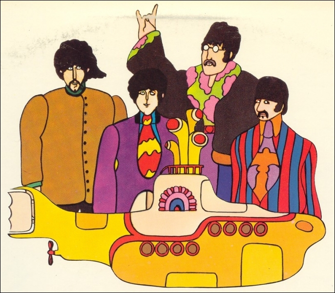 Yellow Submarine  est une chanson :