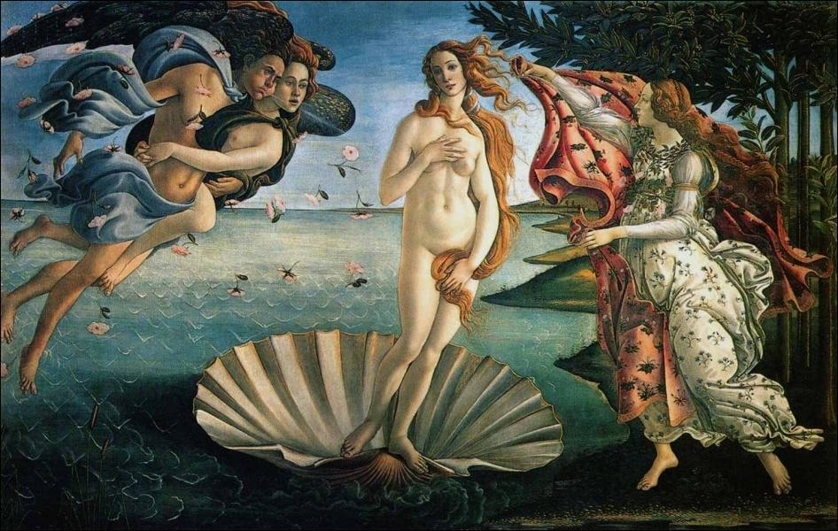 Qui a peint  La Naissance de Vénus  ?