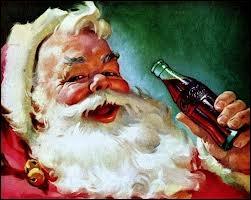 Quelle marque a donné les couleurs définitives (rouge et blanc) au Père Noël en 1931 ?